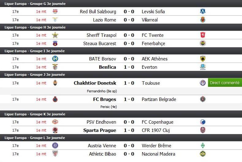 Soirée Coupe de l'UEFA - Page 3 Uefa110