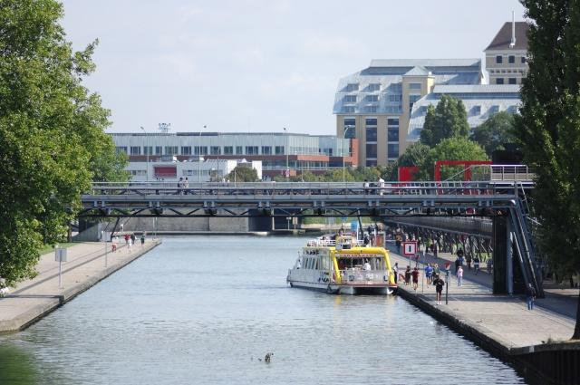 Canaux de Paris, sortie photos du 6 septembre 2009 Penich12