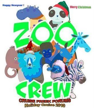 Zoo Crew Logo/Graphics Holiday Cruise 2010 Zoo10
