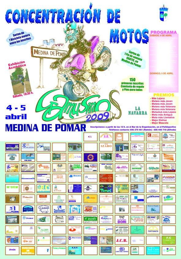 Medina de Pomar 4 y 5 de Abril Gamusinos 09 Cartel10