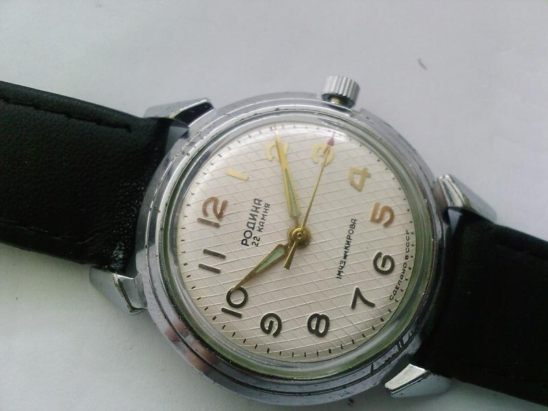 Premières montres soviétiques avec automatic movement Mmm51
