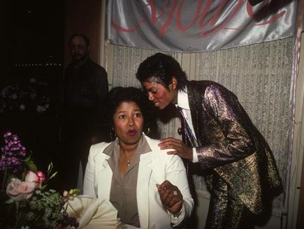 MJ con i genitori Eda01410