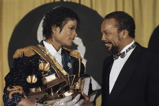 Michael e Quincy Jones Michae14