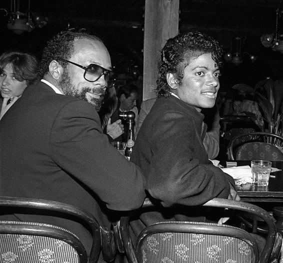 Michael e Quincy Jones Michae15