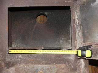 Rénovation d'un poêle à bois P1020014