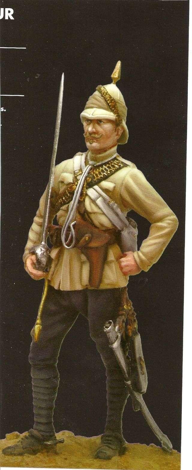 Major anglais 10ème hussard Soudan 1884 Numari39