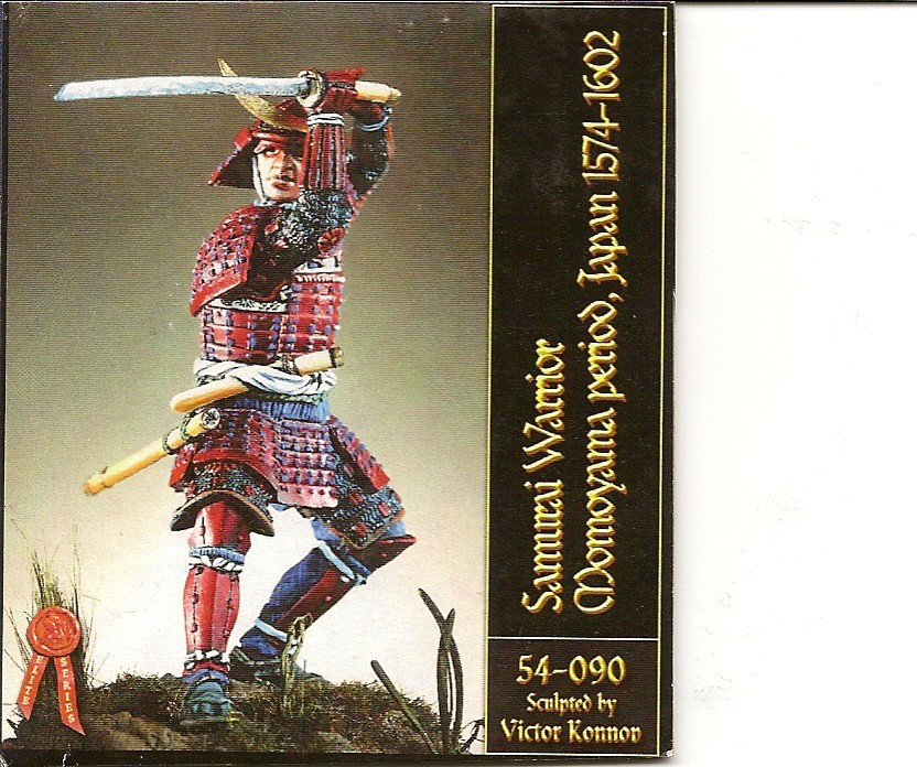 Samourai période Momoyama 1574-1602 Numari40