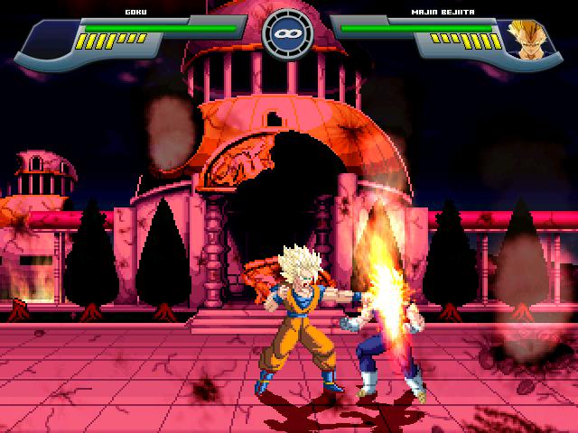 Goku Super Saiyajin 2 W.I.P Por MGMNZX Mugen214