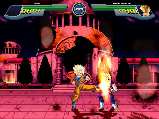 Goku Super Saiyajin 2 W.I.P Por MGMNZX Mugen215