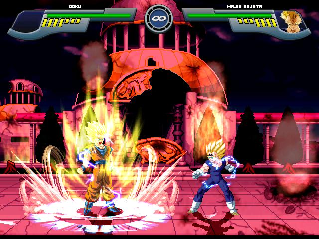 Goku Super Saiyajin 2 W.I.P Por MGMNZX Mugen216