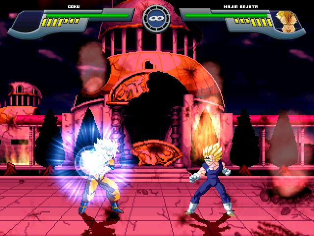 Goku Super Saiyajin 2 W.I.P Por MGMNZX Mugen219