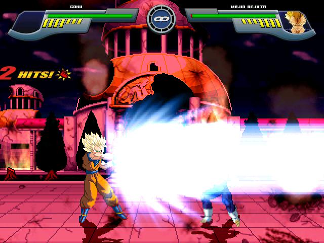 Goku Super Saiyajin 2 W.I.P Por MGMNZX Mugen220