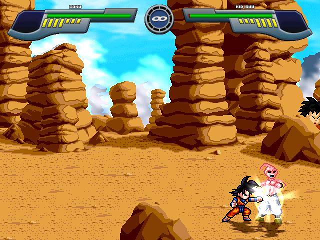 Pocket Goku saga saiyan Mugen319