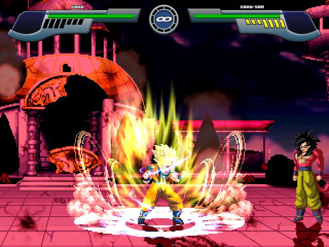 Goku Super Saiyajin 2 W.I.P Por MGMNZX Mugen320