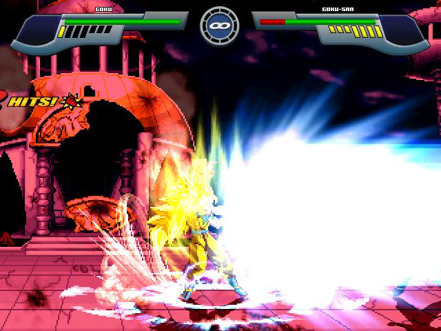 Goku Super Saiyajin 2 W.I.P Por MGMNZX Mugen323