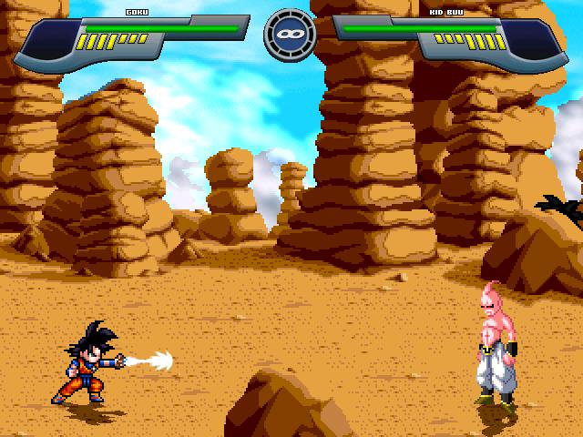 Pocket Goku saga saiyan Mugen511