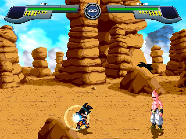 Pocket Goku saga saiyan Mugen611