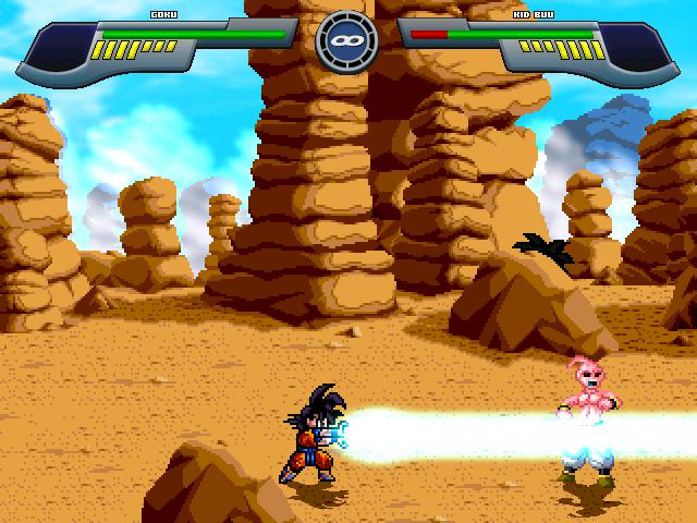 Pocket Goku saga saiyan Mugen710