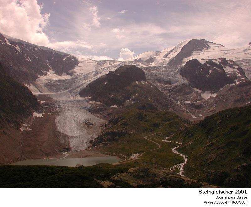 Fonte des glacier: Exemple, Le Steingletscher Steing12