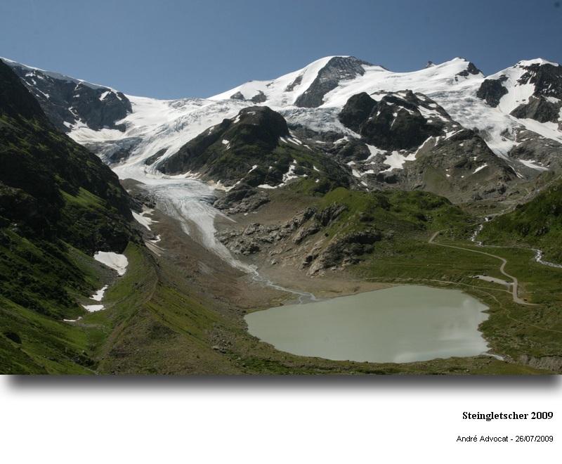 Fonte des glacier: Exemple, Le Steingletscher Steing13