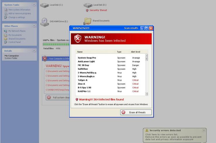 Malware Defender 2009 - Guida alla rimozione Md120010