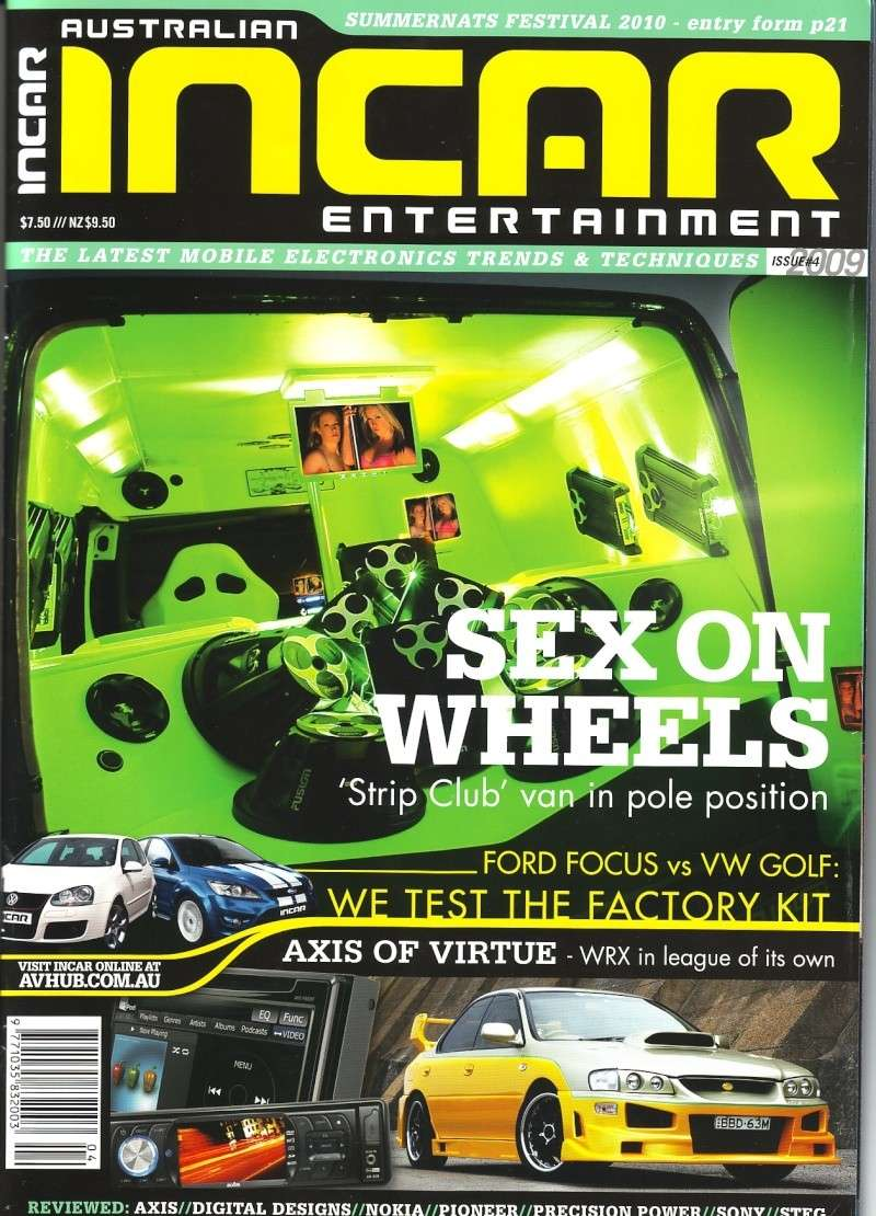 Highway Menace get feature & cover Incar_10