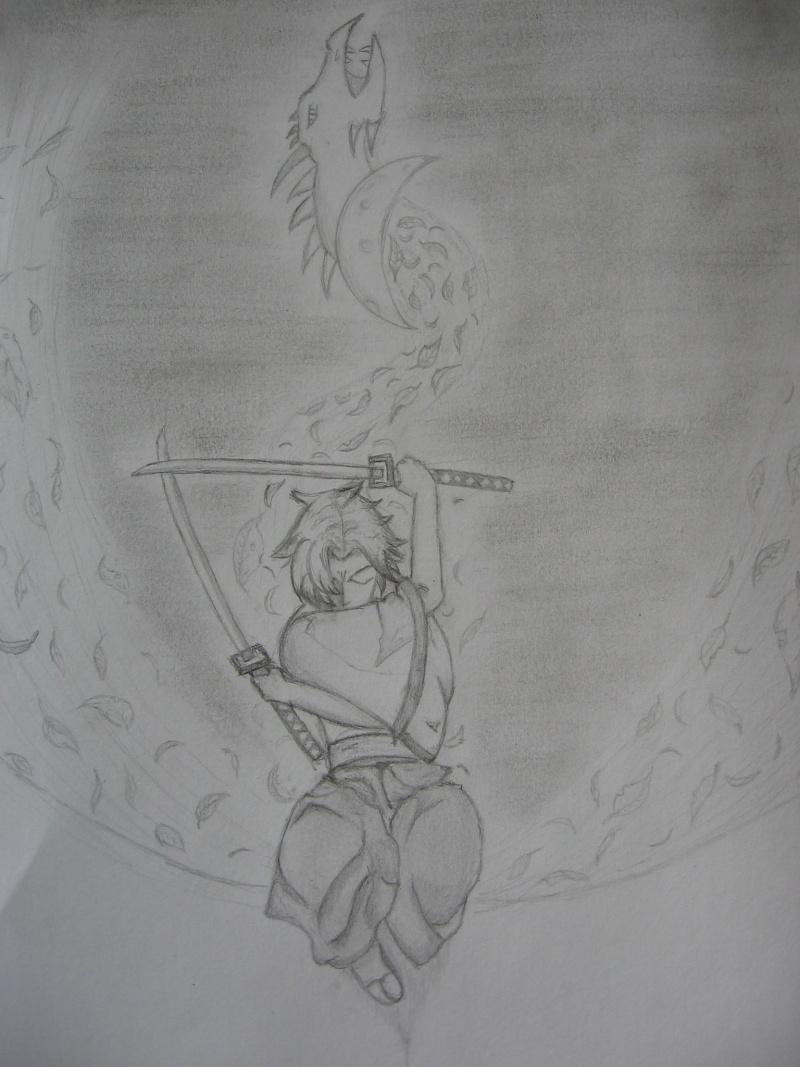 mon début dans le monde du dessin... Akira310