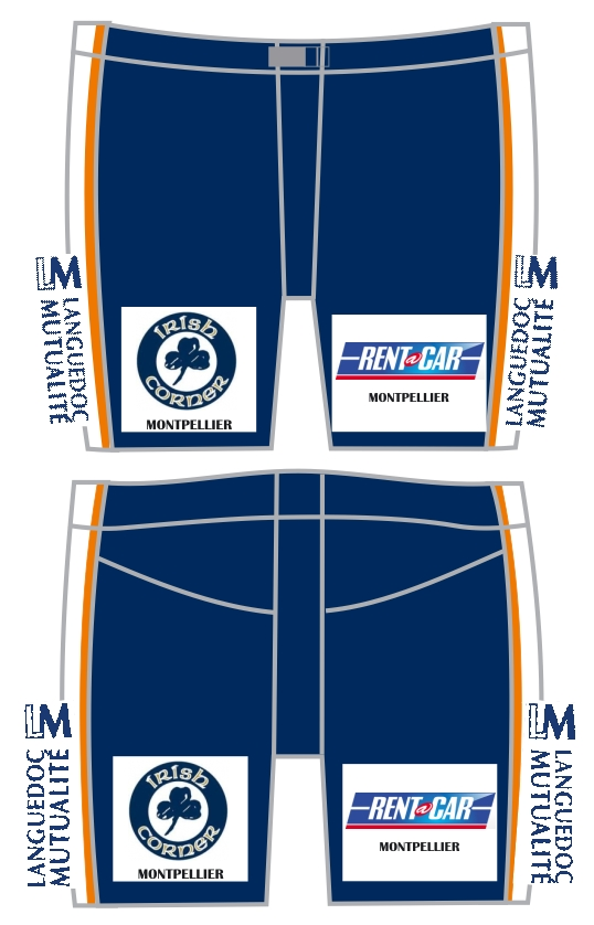 maillots nouvelle saison Montpe12