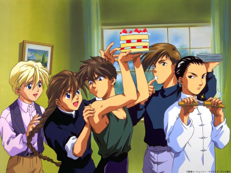 Gundam Wing My_cak10