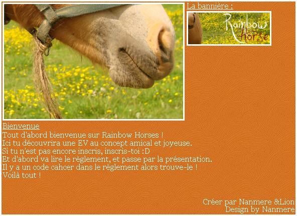 * Rainbow Horses Frg10