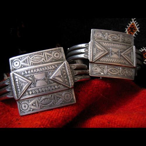 Bijoux Amazigh - Bracelets et Chevillères 2912
