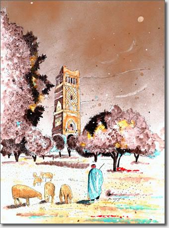 FARID BENYAA .... PAYSAGES ET MONUMENTS D'ALGERIE 4e_tle10