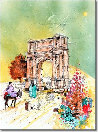 FARID BENYAA .... PAYSAGES ET MONUMENTS D'ALGERIE 4m_set10