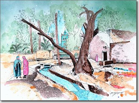 FARID BENYAA .... PAYSAGES ET MONUMENTS D'ALGERIE 4o_bis10