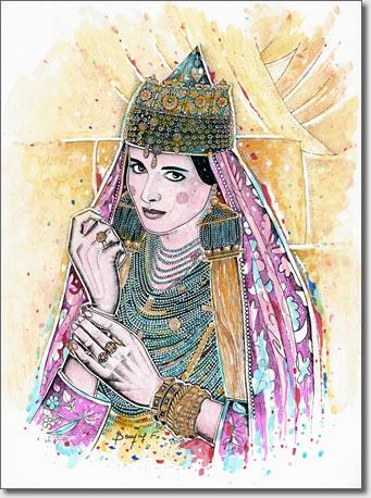 FARID BENYAA .... PORTRAITS DE FEMMES 7ab_la10