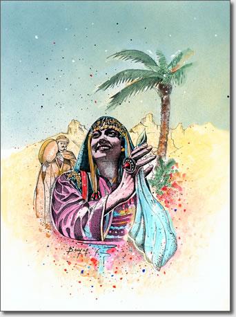 FARID BENYAA .... PORTRAITS DE FEMMES 7ac_el10