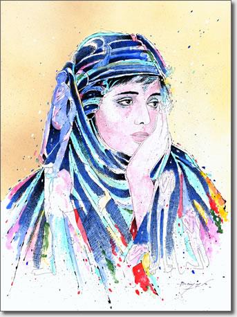 FARID BENYAA .... PORTRAITS DE FEMMES 7ag_in10