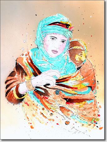 FARID BENYAA .... PORTRAITS DE FEMMES 7ah_le10