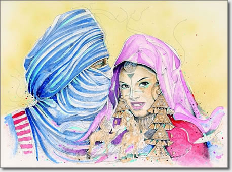 FARID BENYAA .... PORTRAITS DE FEMMES 7b_all10