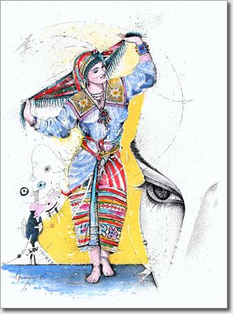 FARID BENYAA .... PORTRAITS DE FEMMES 7e_aza10