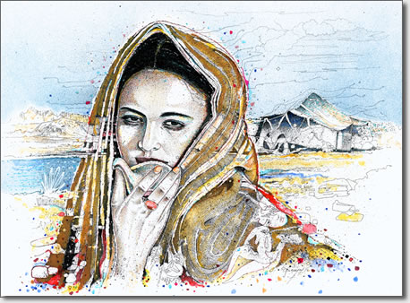 FARID BENYAA .... PORTRAITS DE FEMMES 7o_l_o10