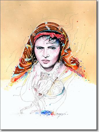 FARID BENYAA .... PORTRAITS DE FEMMES 7v_la_10