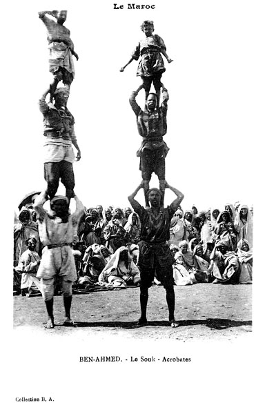Les vieux métiers marocains... Acroba10