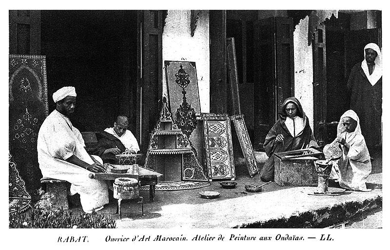 Les vieux métiers marocains... Artisa10