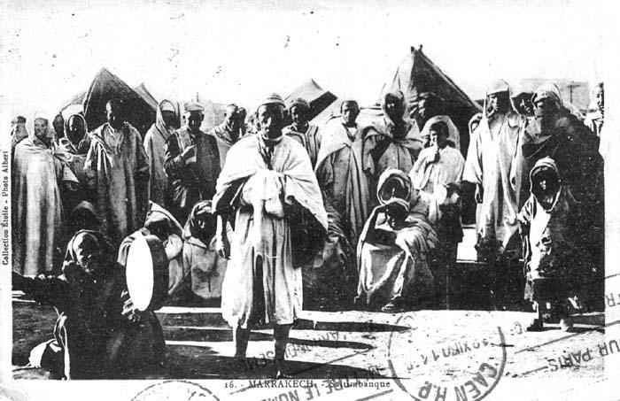 Les vieux métiers marocains... Conteu10