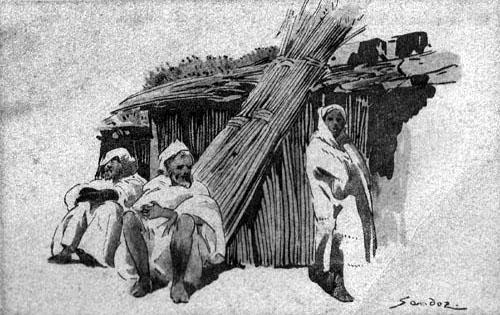 Les vieux métiers marocains... Dessin10