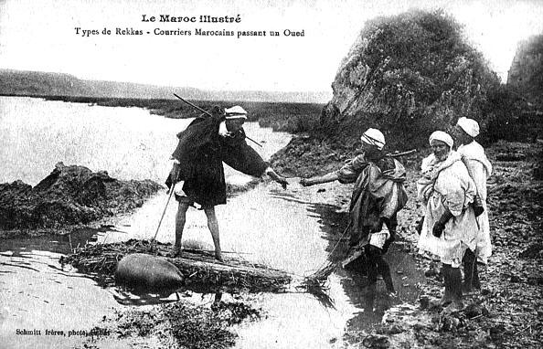 Les vieux métiers marocains... Facteu10