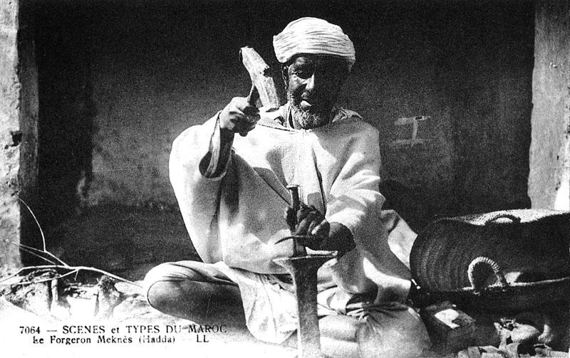 Les vieux métiers marocains... Forger10