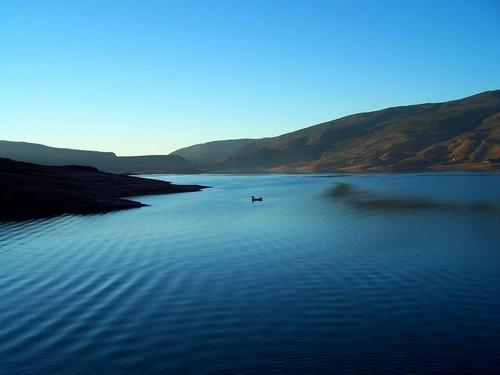 Le lac  BIN EL OUIDANE Lac_de11