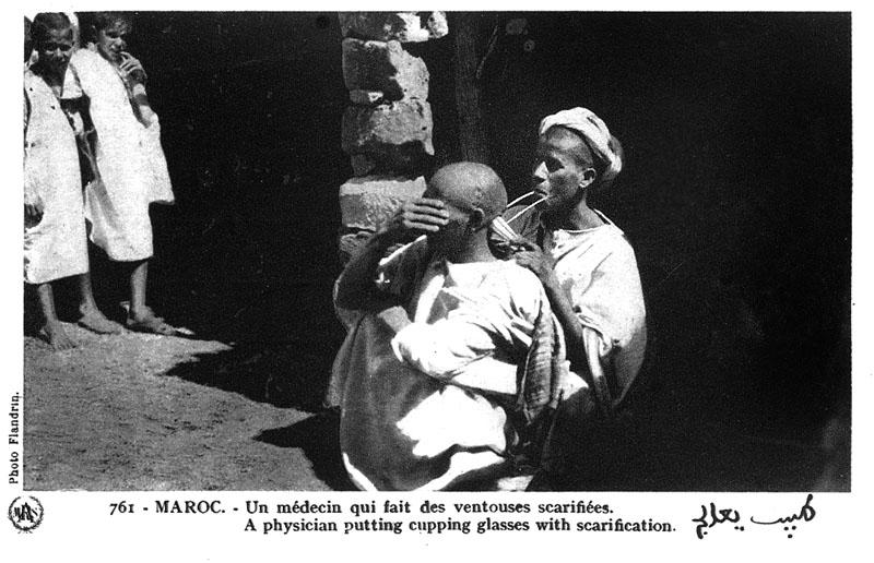 Les vieux métiers marocains... Medeci10